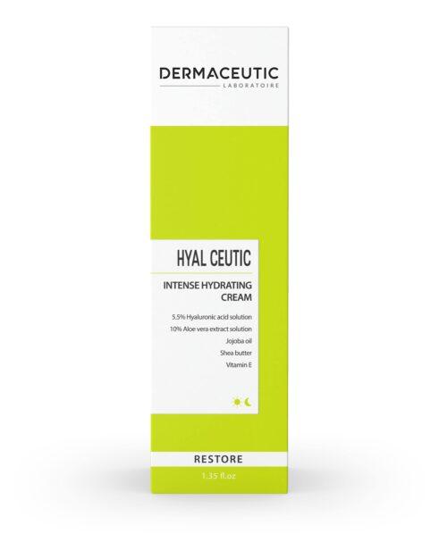 Hyal Ceutic 40ml vlažilna krema z hialuronsko kislino