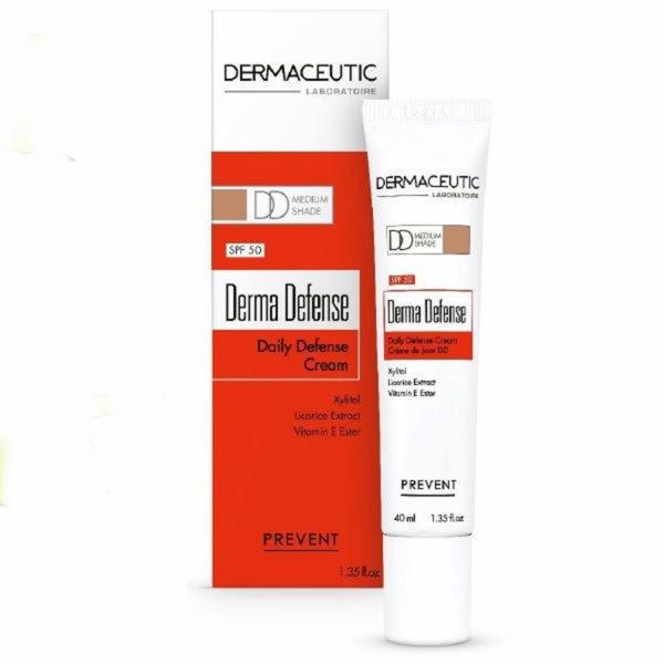 Krema za obraz in telo Dermaceutic Derma Defense (Dd Cream) - Medium