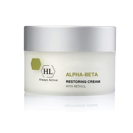 Obnovitvena krema za obraz in telo HL Cosmetics Alpha-Beta With Retinol Restoring Cream