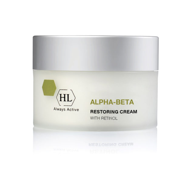 Obnovitvena krema za obraz in telo HL Cosmetics Alpha-Beta With Retinol Restoring Cream