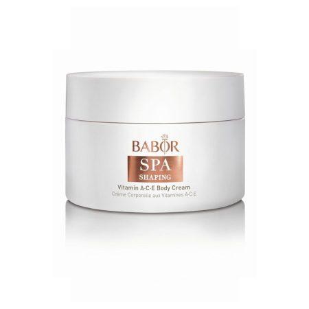 Babor Vitamin A C E body cream.